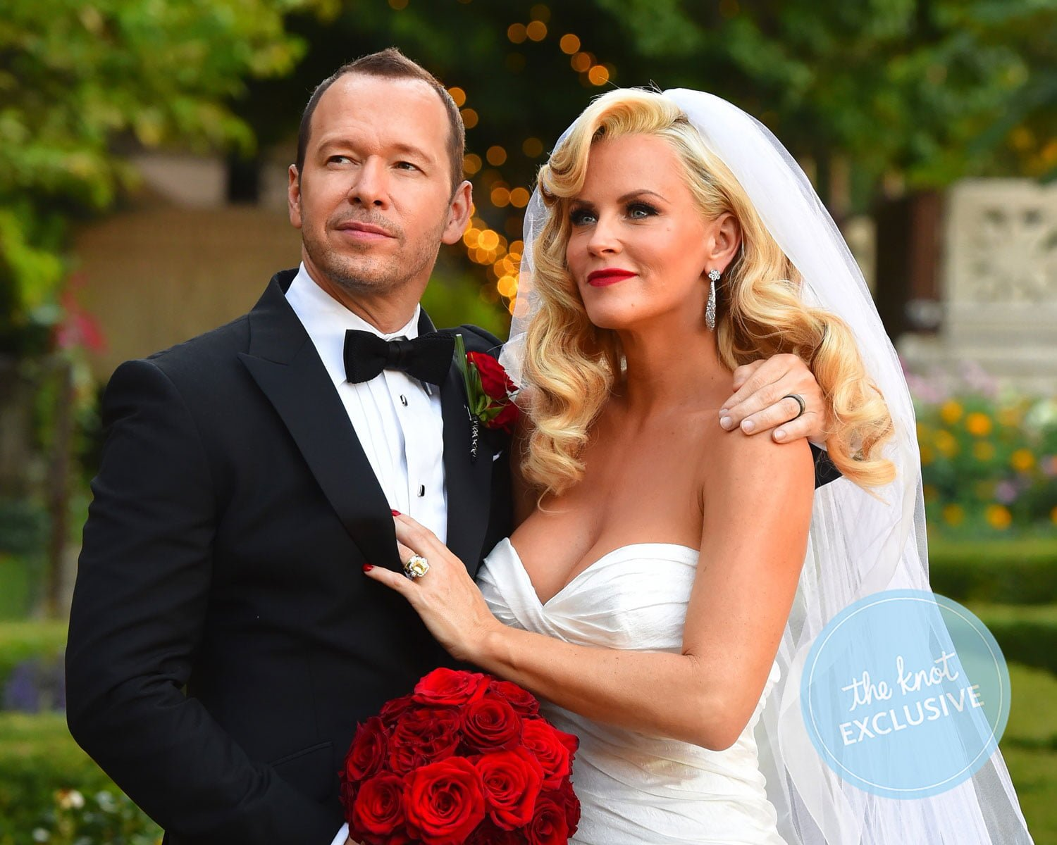 Donnie and McCarthy's wedding