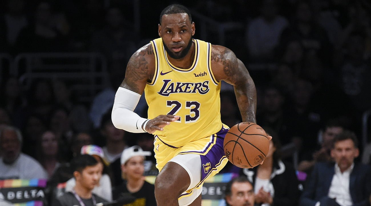 Lebron James Height, Weight and Stats