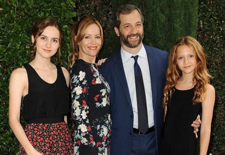 Who is Leslie Mann's Husband, Family, Daughters, Net Worth