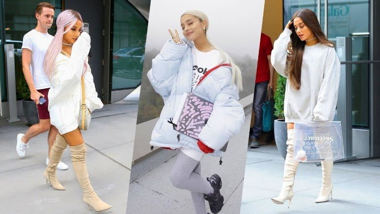 Ariana Grande Hair, Hair Color and Outfits