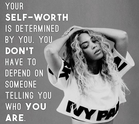Beyonce Quotes and Tattoo