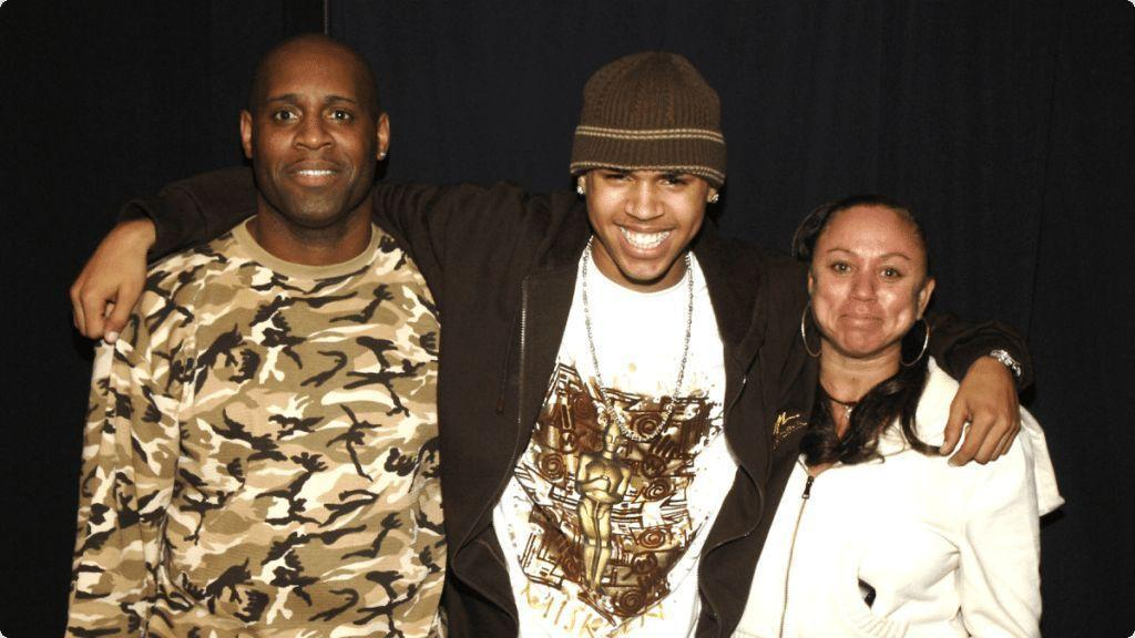 Chris Brown Mom Brother Parents