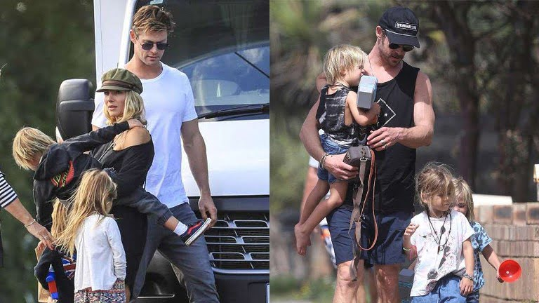 Chris Hemsworth's Wife Brothers Kids Daughter And Family