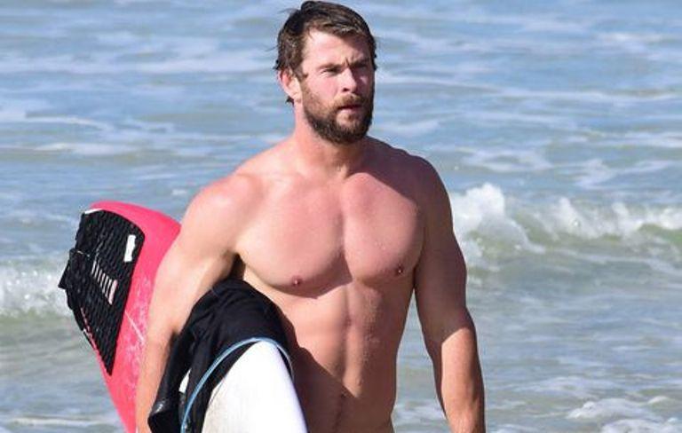 Chris Hemsworth's Height, Weight Body Measurements