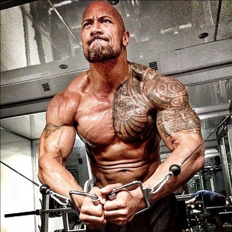 Dwayne Johnson's Height, Weight And Body Measurements