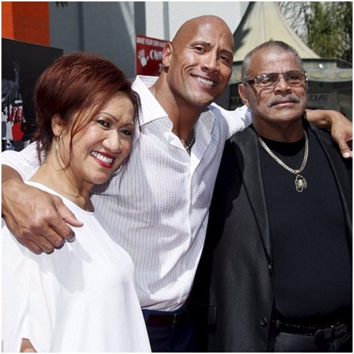 Dwayne Johnson S Parents Dad Mom And Family Celebily