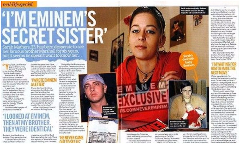 Eminem's Mom, Sister, Brothers And Family