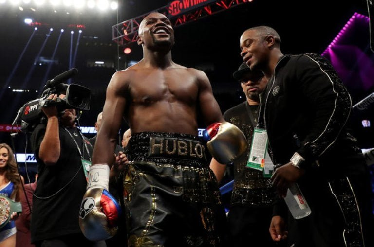 Floyd Mayweather's Height Weight And Body Measurements