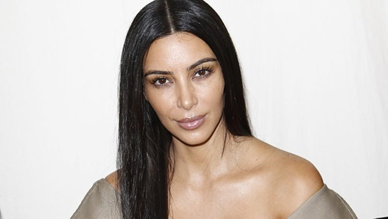 Kim Kardashian Crying Face, With and Without Makeup