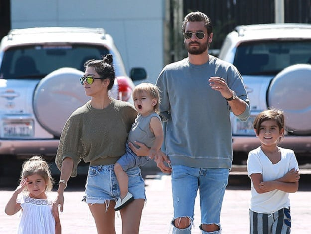 Kourtney Kardashian Kids Siblings Husband Family » Celebily