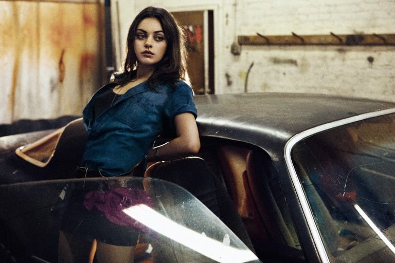 Mila Kunis Height, Weight, Eyes, Body Measurements
