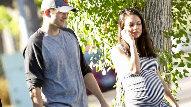 Mila Kunis Baby, Daughter And Husband