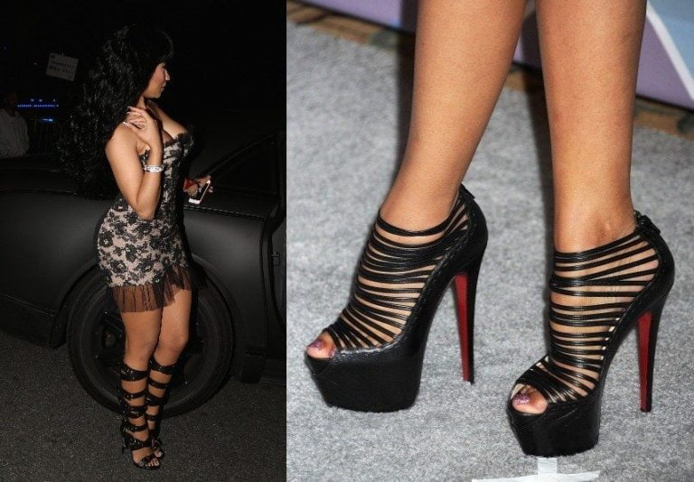 Nicki Minaj's Real Hair, Feet, And Nails