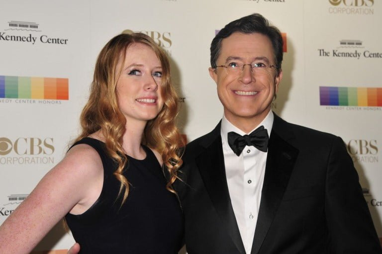 Stephen Colbert's Wife, Family And Kids