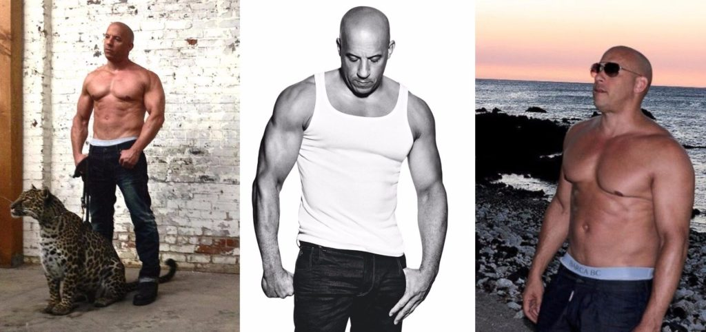 Vin Diesel Height Weight and Body Measurements