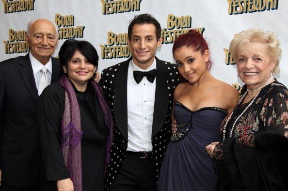 ariana grande parents and background celebily