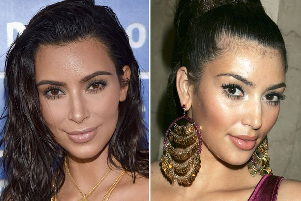 Kim Kardashian's Nose Job, Eyebrows And Nails