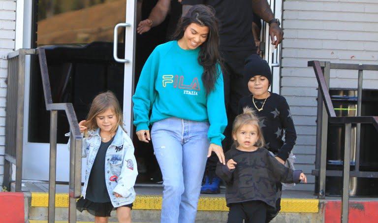 Kourtney Kardashian Kids Siblings Husband Family