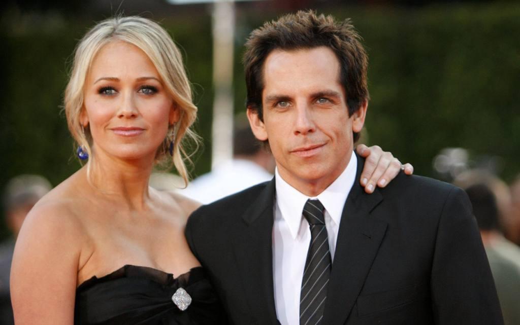 Ben Stiller's Wife, Dad, Mom And Kids