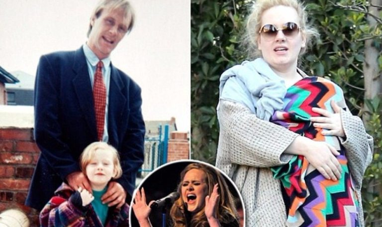 Adele's Father, Mother, Husband And Son