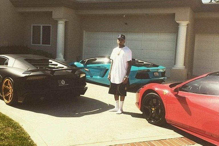 Chris Brown Tattoos, House, And Cars