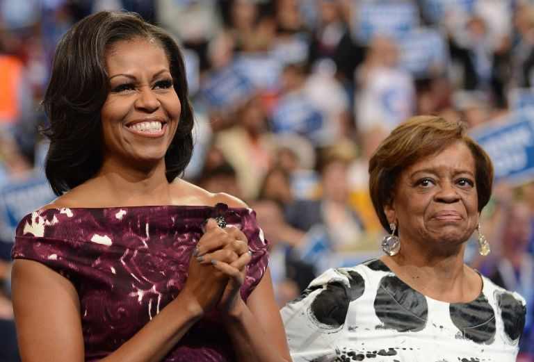 Michelle Obama's Mother, Brother And Teeth