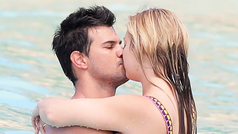 Taylor Lautner's Girlfriend And His Parents