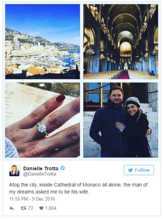 Danielle Trotta Bio, Married, Wedding, Husband, Salary, Net Worth